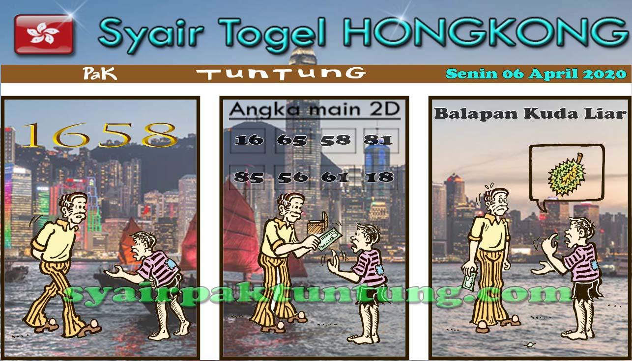 Prediksi HK Malam Ini Selasa 07 April 2020 - Prediksi HK Pak Tuntung