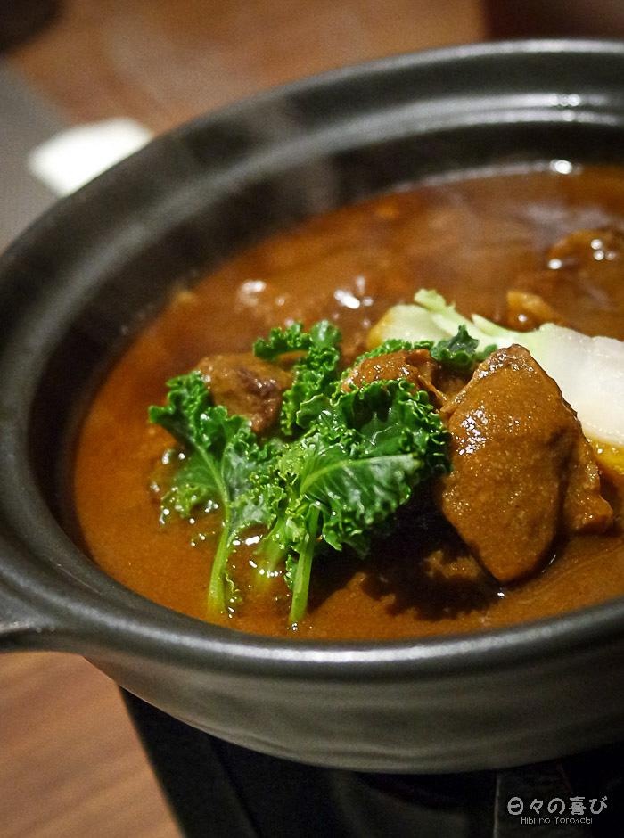 viande mijotée, menu kaiseki, Hakone Pax Yoshino