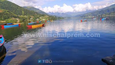 pokhara+fewa+lake+nepal