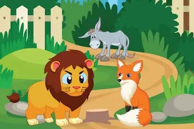 The Clever Fox short hindi moral story