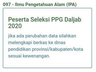 verifikasi LPMP disetujui ikut PPGJ 2020