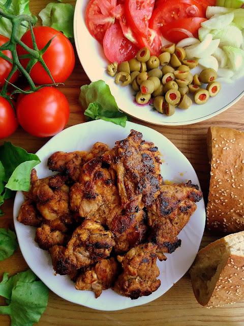 Shawarma z kurczaka / Chicken Shawarma