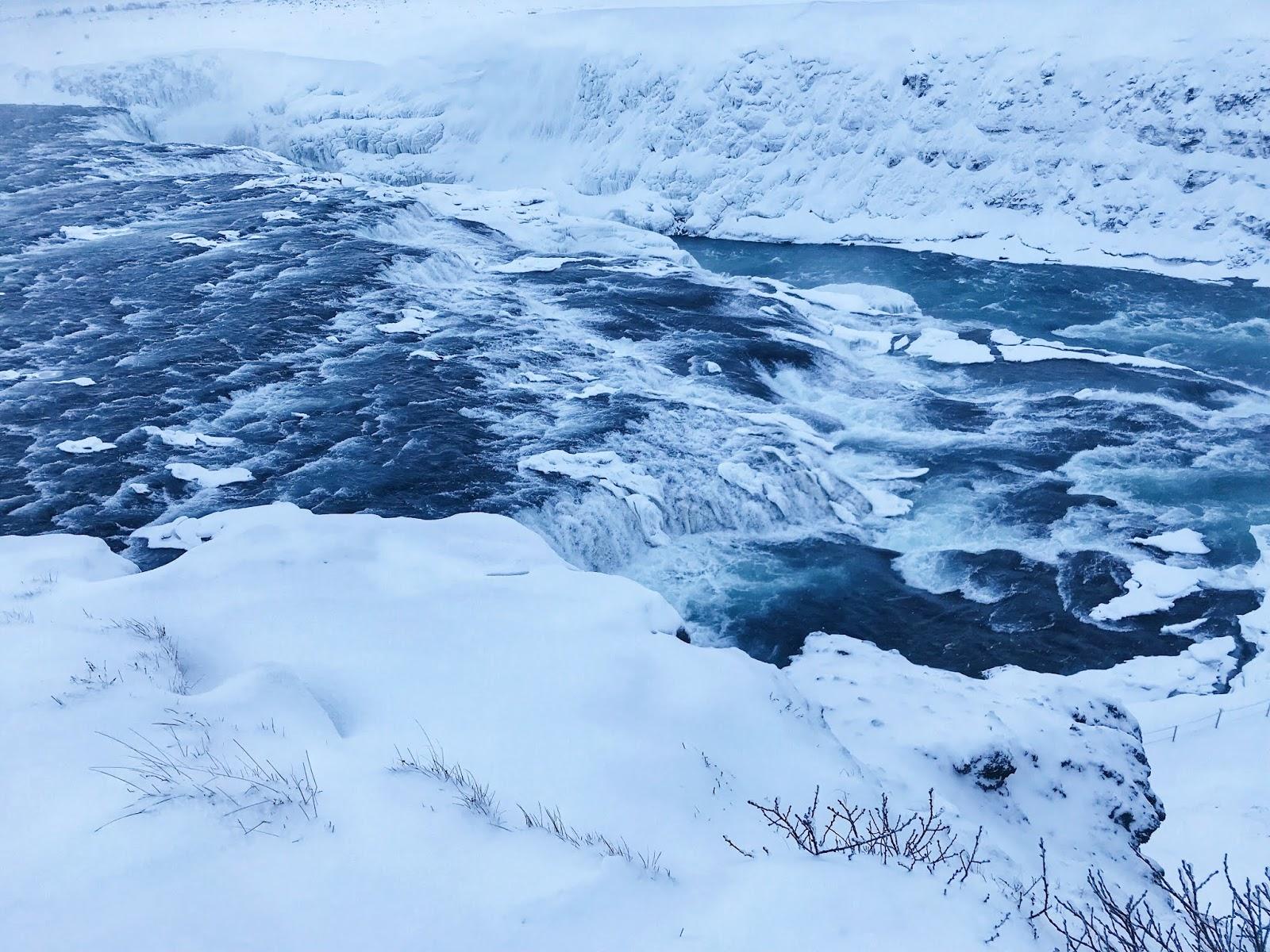 Image of Gulfoss Waterfall Reykjavik