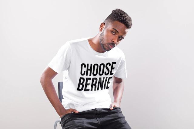 Choose Bernie for president 2020 T-shirt