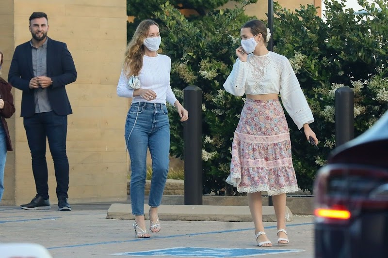 Leslie Mann and Maude Apatow Out for Dinner at Nobu in Malibu 17 Jun -2020