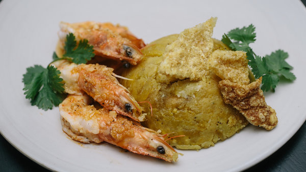 Shrimp Mofongo Recipe