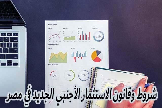 شروط وقانون الاستثمار الأجنبي الجديد في مصر
