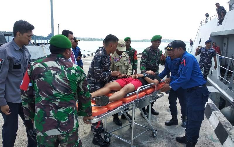 "Tingkatkan Kemampuan, Lantamal IV Gelar Latihan Pencarian dan Penyelamatan ""SAR"""