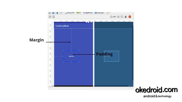 Contoh Penerapan Margin dan Padding Android Studio
