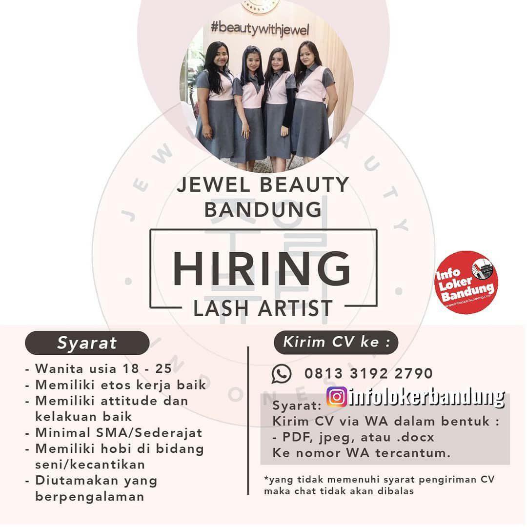 Lowongan Kerja Lash Artist Beutician Jewel Beauty Bandung Janauari 2020
