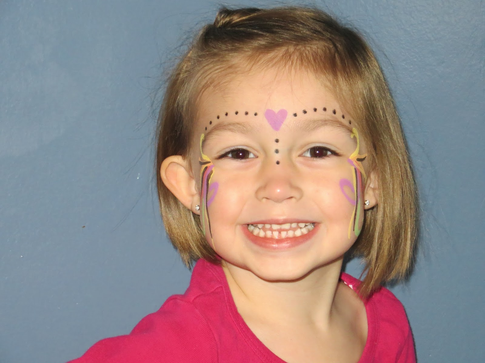 easy face painting through the eyes of the mrs. Black Bedroom Furniture Sets. Home Design Ideas