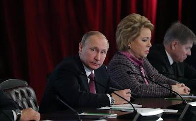 Vladimir Putin, Valentina Matveenko.