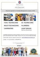 Facilities Management Job Openings