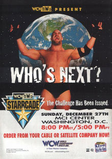 WCW Starrcade 1998 Review - Event poster