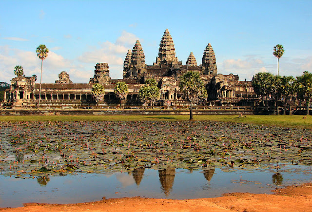 Indiana Jones' adventures in Angor Wat, Cambodia