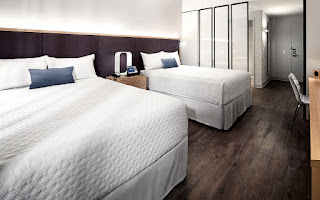 Aventura Hotel Room Design, As Sleek as the Outside of the Hotel