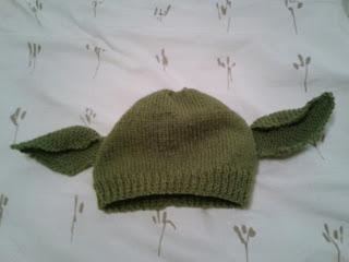 Little Knittle: Yoda/Dobby Hat