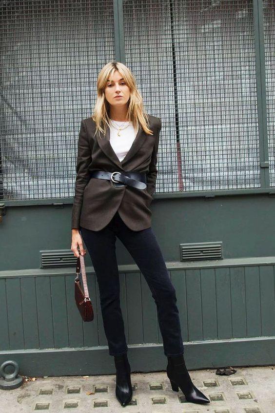 blazer outfit da copiare per abbinarlo con stile