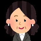 女性会社員の顔のアイコン10