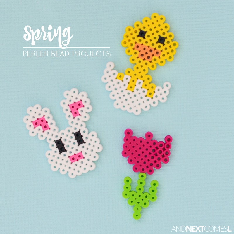 Spring Easter Perler Bead Crafts And Next Comes L