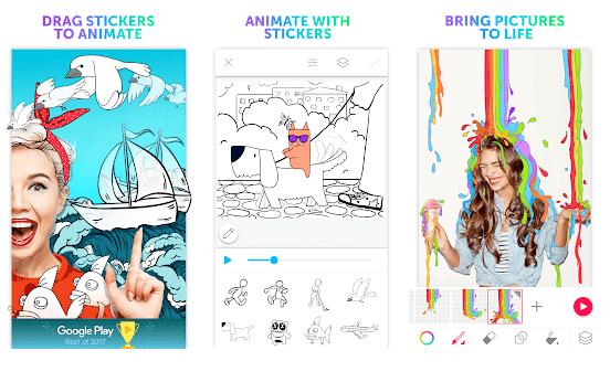 تطبيق PicsArt Animator