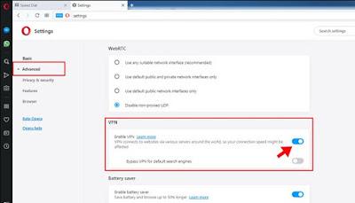 Cara Membuka Situs Terblokir dengan Opera Browser
