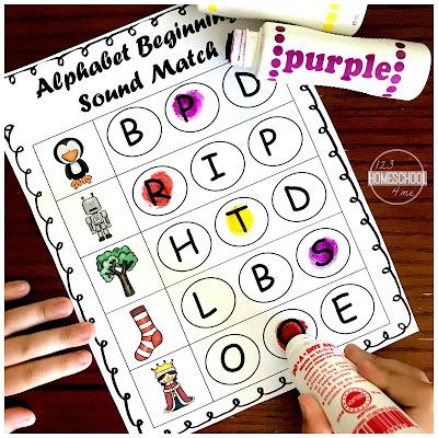 phonics - beginning sounds with prek and kindergarten