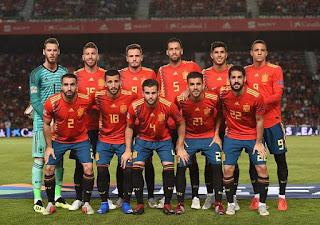 مباراة إسبانيا والسويد في تصفيات يورو 2020