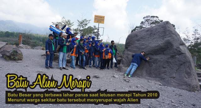 Batu Alien dari Gunung Merapi