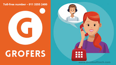 Grofers Customer care support
