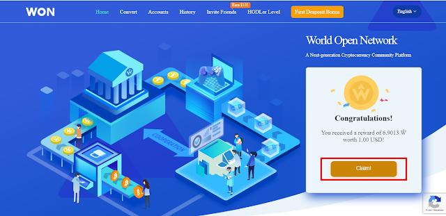 Cara Mendapatkan Dollar Gratis dari Situs WON