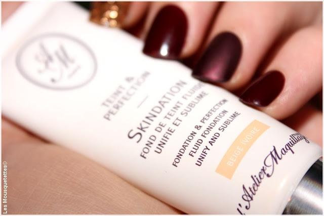 Skindation, nouveauté fond de teint - L'Atelier Maquillage Paris - Blog beauté Les Mousquetettes