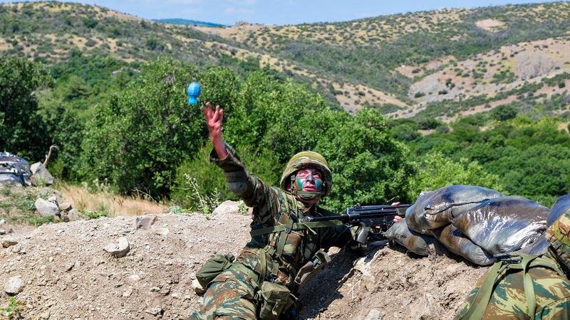 Αλεξανδρούπολη: Βολές χειροβομβίδας και οπλοβομβίδας στα Πεδία Βολής ΑΕΤΟΣ και ΑΛΙΚΗ