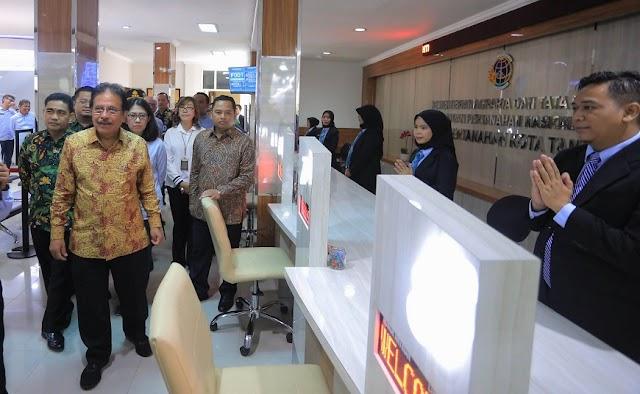 Loket Online BPN Kota  Tangerang Jadi Contoh Di Indonesia