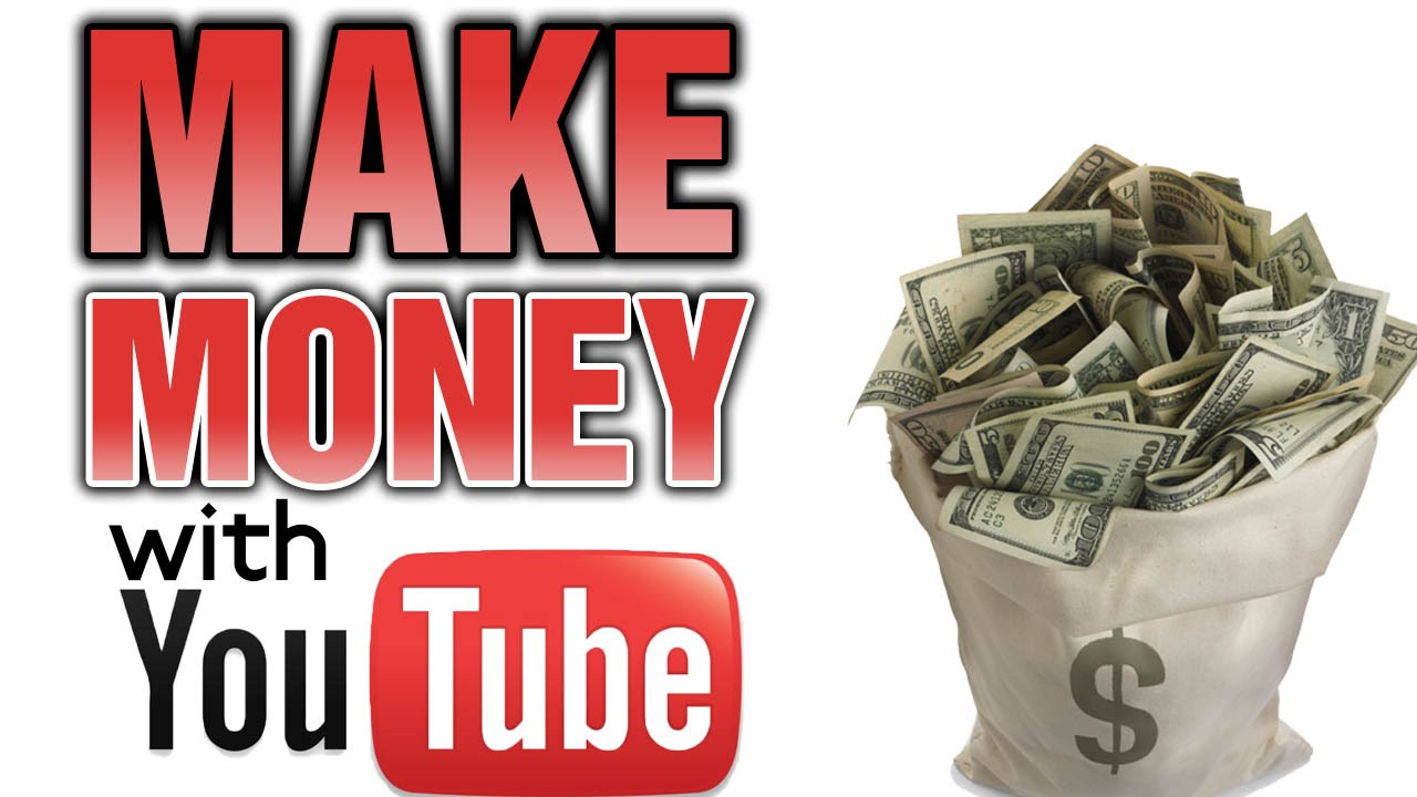 Do You Want Make Money Online? Consider Becoming Active On Youtube That's  A Huge Audience Many People Are Already Making Money There, Youtube Boasts  One