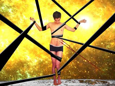 Edit surrealista realizado en Photoshop como muestra de Arte Visual Contemporaneo.