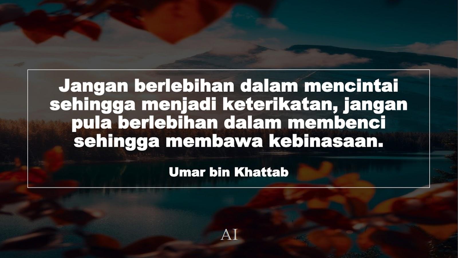 Wallpaper Kata Bijak Umar bin Khattab Format Desktop ...