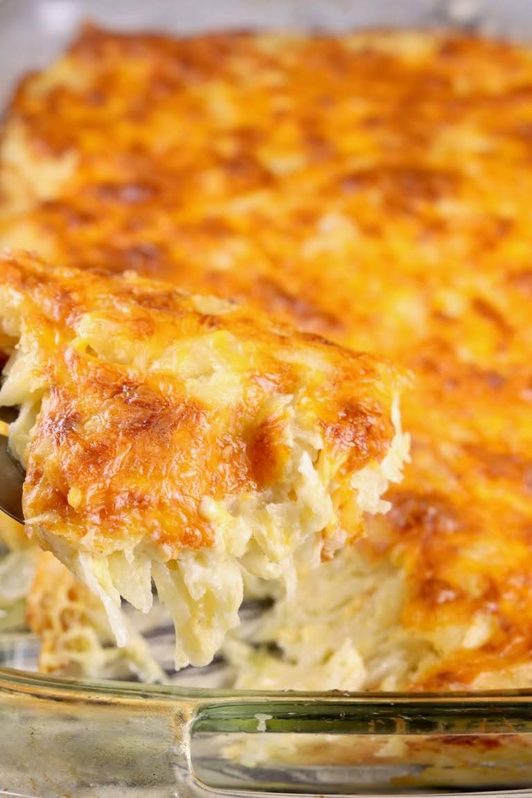 Cheesy Hashbrown Casserole | Courtesy of Miss in the Kitchen