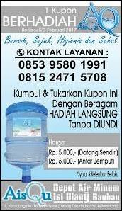 kupon depot air minum isi ulang - Abdullah Water