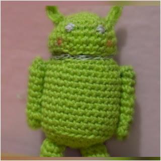 patron amigurumi Muñeco Android crochet y amigurumis