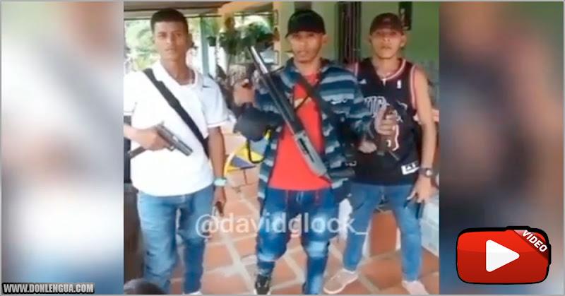 Talento Nacional | Tres malandros le hacen su advertencia a uno de otra banda en Monagas