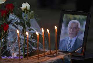 Funeral for murdered Kosovo Serb politician