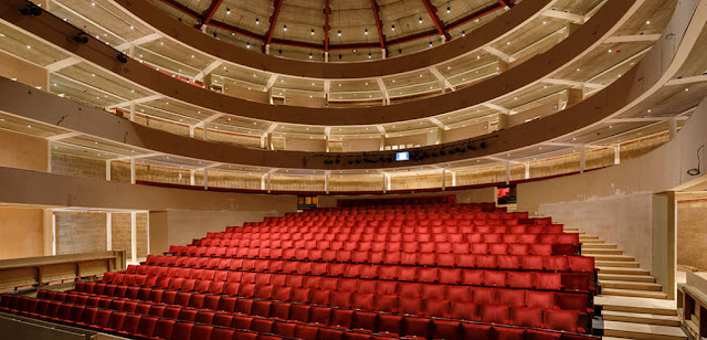 The new theatre at Grange Park Opera
