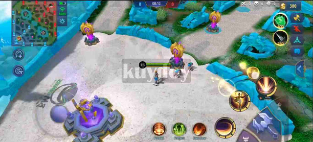 Script Light Blue Map Drone View Mobile Legends