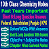 10 Class Chemistry | Short And Long Question Answers Notes