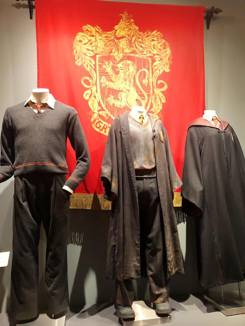 Exposition costumes Harry Potter Studios Warner Bros Los Angeles