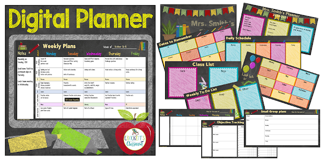 Digital Planners are so easy to customize.