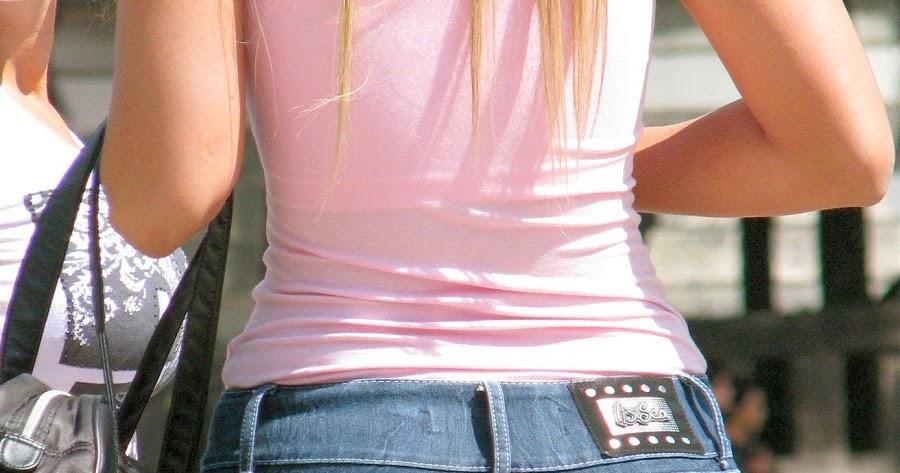 Hot Girls Big Butt In Pants - Mujeres Bellas En La Calle-5007