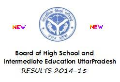 UP Board Class 12th Inter Results Name Wise Marksheet 2014-15