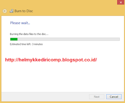 Cara Burning DVD Tanpa Software